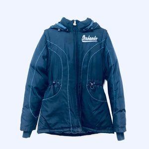 Classic Reebok Seahawks Blue Coat Size Small